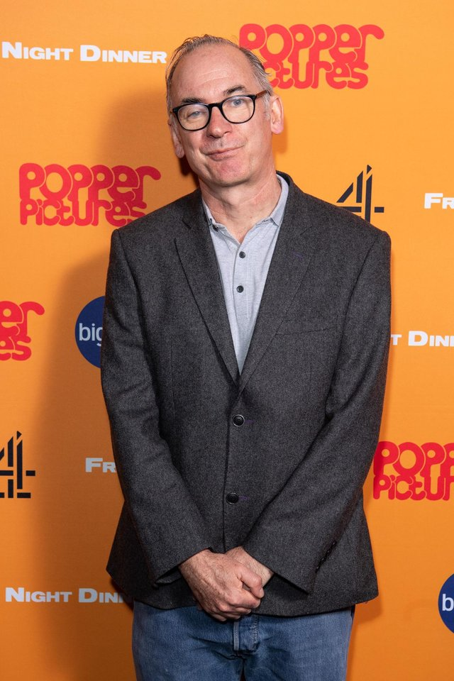 Paul Ritter attends a Friday Night Dinner photocall in March 2020 (Picture: Jeff Spicer/Getty Images)