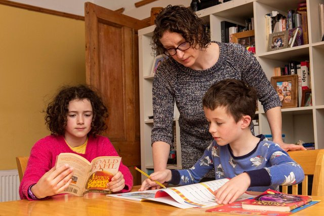 Home schooling adds pressure to parents working from home