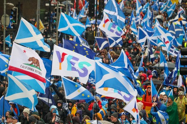 Pro-independence campaigners are planning to resume marching again when Scotland moves into the final phase of plans to ease coronavirus lockdown restrictions.