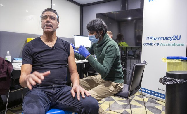 TV presenter Chris Kamara has urged people from minority ethnic communities to get the Covid-19 vaccine. Picture date: Wednesday March 3, 2021.