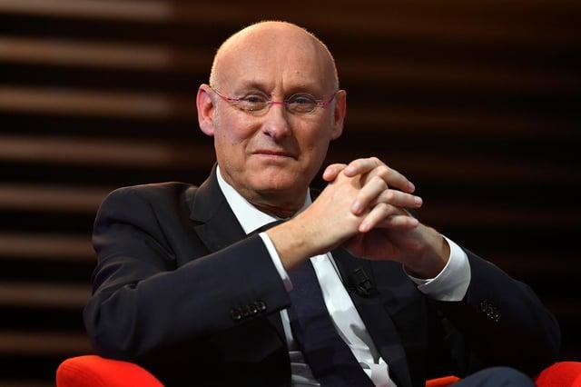 Bernard Laporte, le chef de la fédération française de rugby.