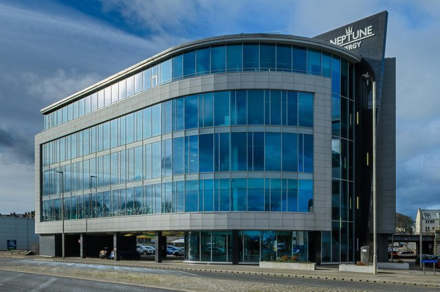 The Grade A office building – let in its entirety to a subsidiary of Neptune Energy Group, the exploration and production company – has been sold by a limited partnership managed by Tritax to Glade Capital. Picture: Neil Gordon