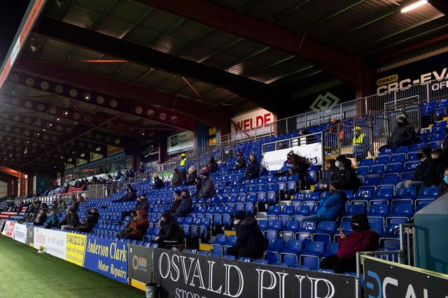 Fans back at Scottish football as Ross County and Livingston serve up  entertaining draw | The Scotsman