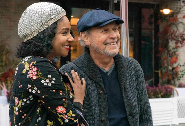 Tiffany Haddish and Billy Crystal star in Here Today. Picture: Cara Howe