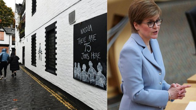 The First Minister is likely to give an update on the situation in Glasgow as cases of the virus spread across partsof the city (Photo: John Devlin and Russell Cheyne).