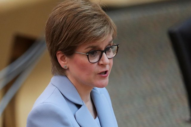 First FMQs of the new parliamentary session and Nicola Sturgeon already seemed wearied by it.