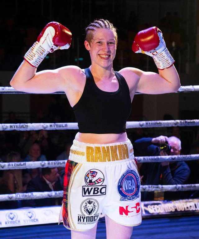 Hannah Rankin is to fight Savannah Marshall for the vacant WBO middleweight world title. Picture: Craig Foy/SNS