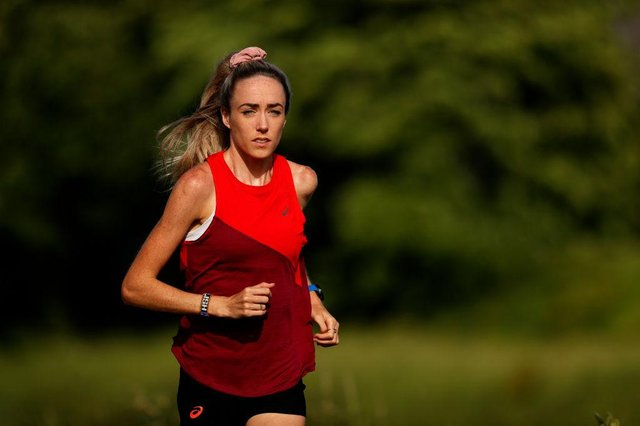 Great Britain middle-distance runner Eilish McColgan will equal a Scottish record for female athletics Olympians in Tokyo this year. (Photo by Clive Brunskill/Getty Images)