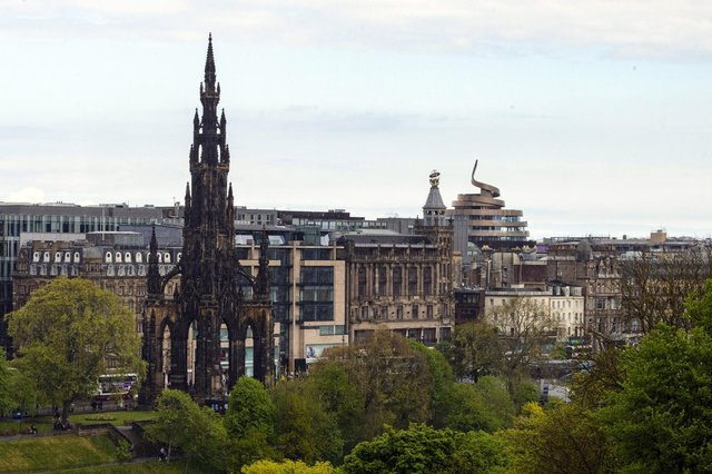 Edinburgh ranked fourth highest with a 24 per cent jump in interest in acquiring office space. Picture: Ian Georgeson.