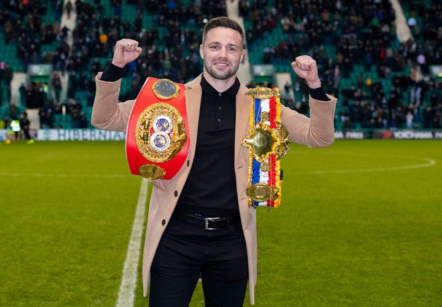 Josh Taylor will be hoping for success the same day Hibs play St Johnstone in the Scottish Cup final. Picture: SNS