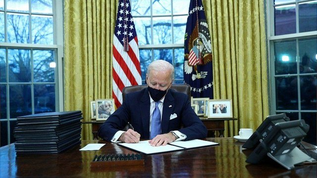 President Biden has already outlined and directed some key changes (Picture: Reuters)