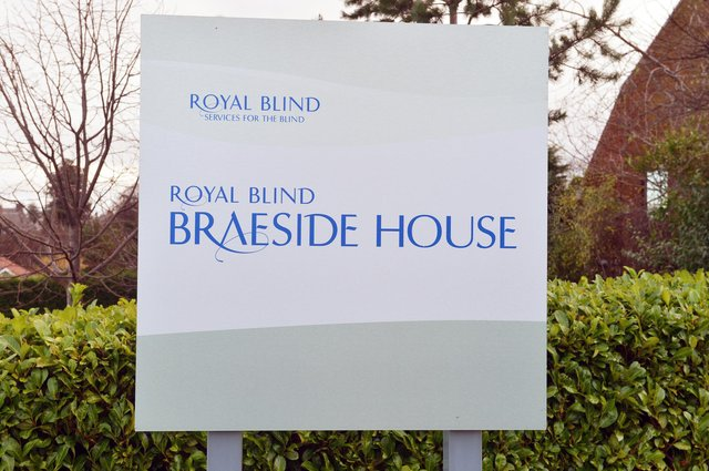 Braeside House currently provides support to 31 blind and partially sighted residents in the Capital