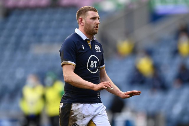 Finn Russell will be made available to play for Scotland against France.