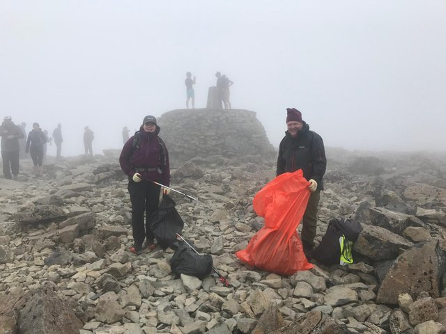 More than 400,000 people come to Ben Nevis each year, and that figure is expected to grow - fears have been raised over the impact of issues such as litter on the area, especially as lockdown restrictions ease