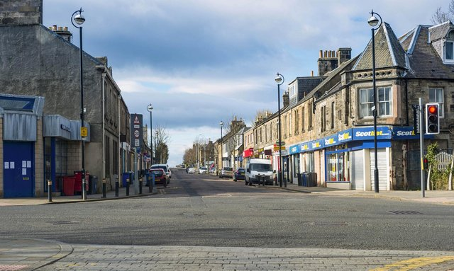 Like Loanhead town centre in April last year, streets all over Scotland, the UK and the world have been empty of people during the height of Covid lockdowns (Picture: Mark Scates/SNS Group)