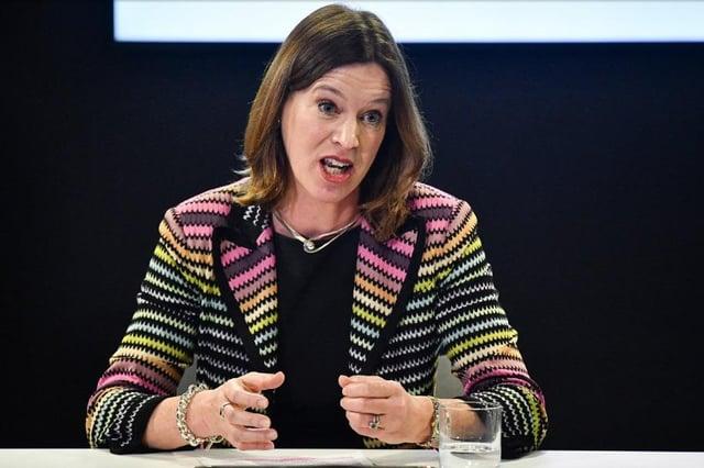 Scottish Government Chief Medical Officer Catherine Calderwood