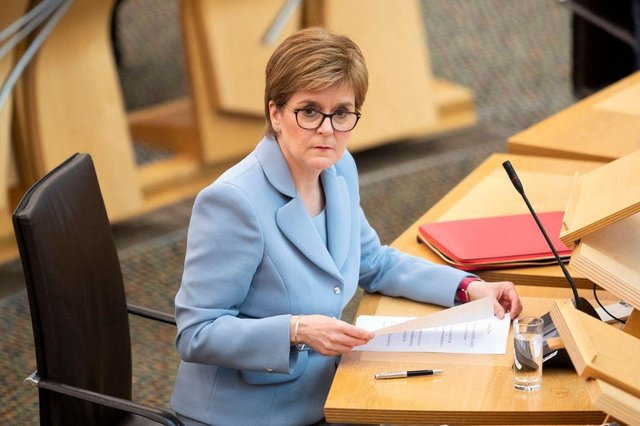 The First Minister, who trained as a lawyer, revealed she personally had changed her mind on the issue.