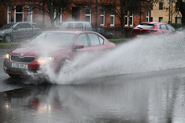 Flash floods could be more common in Glasgow as a result of climate change.