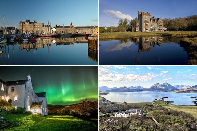 A few of Scotland's finest island hotels.