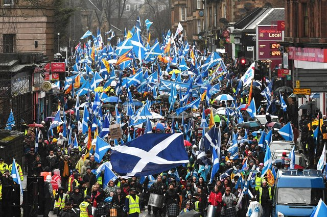 The phoney war between the Conservatives and the SNP continues on independence.