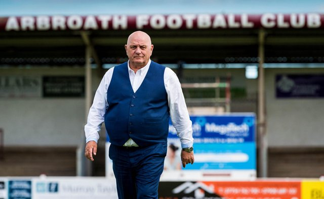 Arbroath manager Dick Campbell has slammed the Super League idea. Picture: SNS