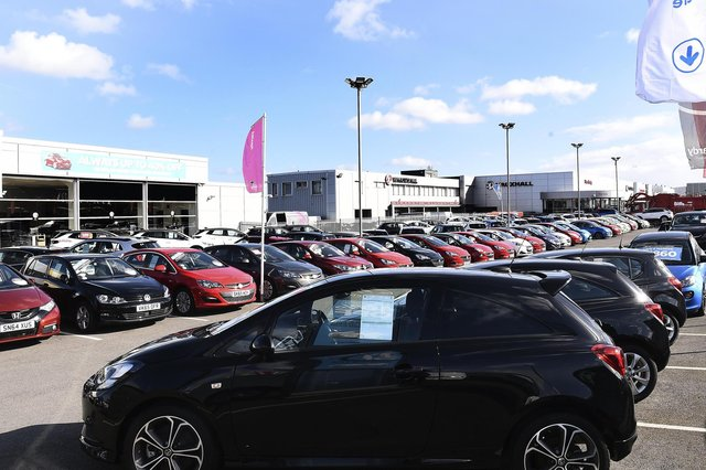 There were 87,226 new cars registered across the UK in August compared with 92,573 during the same month in 2019, according to the latest figures from the Society of Motor Manufacturers and Traders (SMMT). Picture: Lisa Ferguson