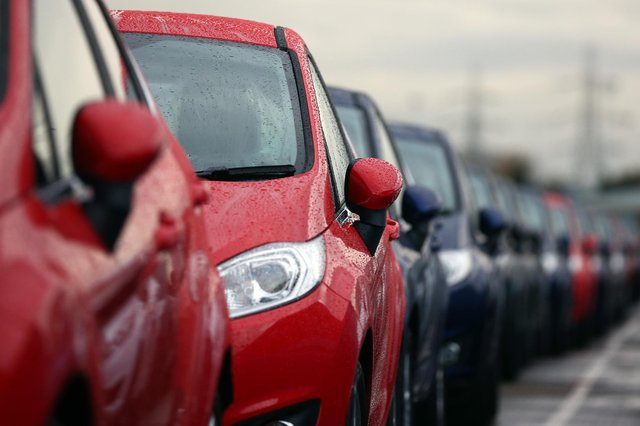 There was a 36 per cent year-on-year drop in demand for new cars last month. Picture: Carl Court/Getty Images.