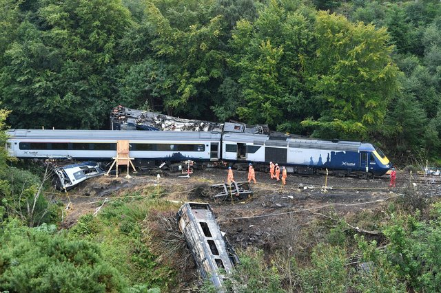 The crash in August came after bad weather caused issues with the track.