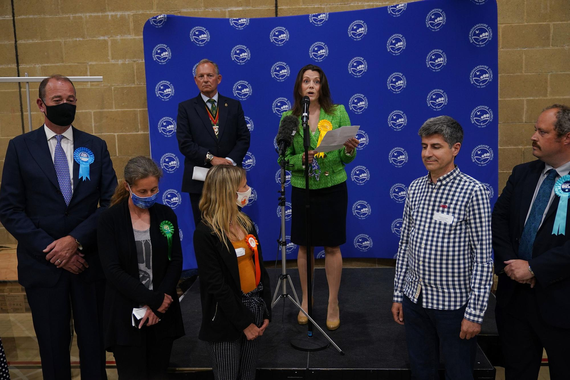 Lib Dem leader hails 'best-ever' by-election win
