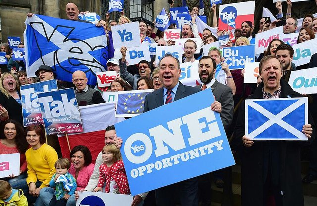 The SNP want a re-run of the Scottish Independence Referendum, and have outlined their 11-point-plan (Picture: Getty Images)
