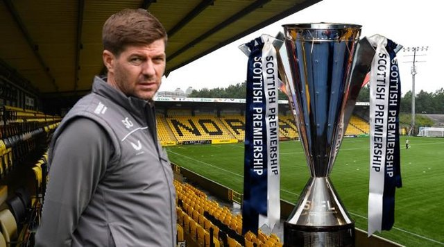 Steven Gerrard has picked his side for the penultimate game of the season - at Livingston.
