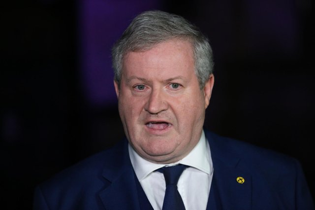 SNP Westminster leader Ian Blackford has faced criticism over his comments on a second independence vote