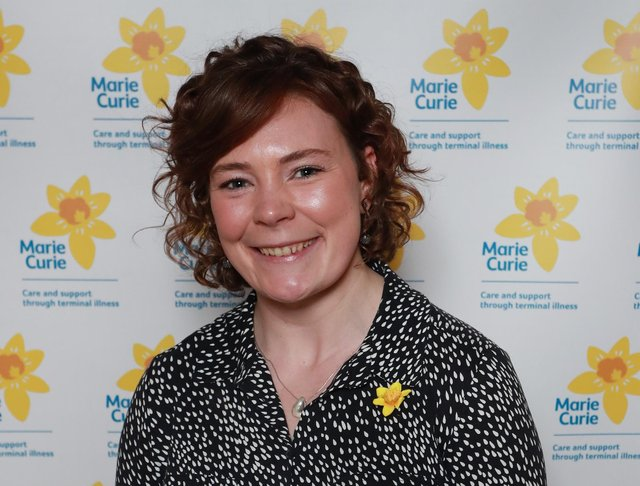 Ellie Wagstaff is Policy and Public Affairs Manager at Marie Curie