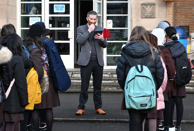 The largest class sizes in Scotland have been revealed.