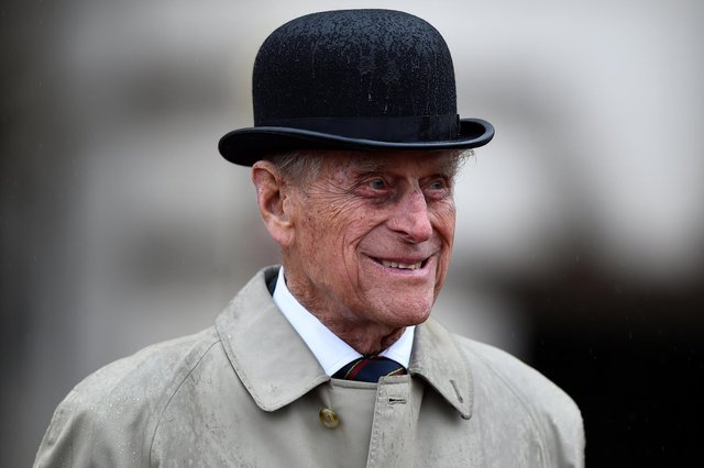 The Duke of Edinburgh attending the Captain General's Parade at his final individual public engagement, at Buckingham Palace in London.