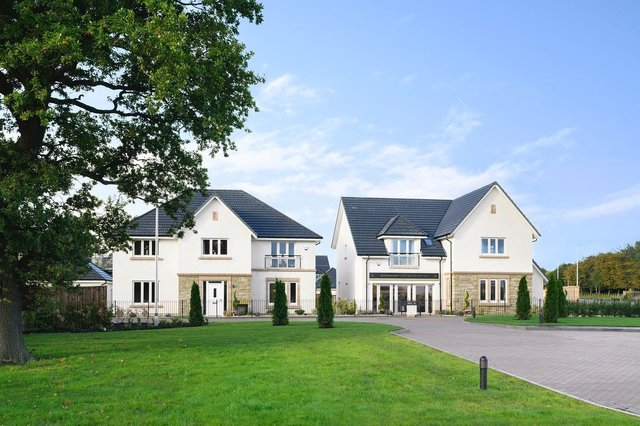 All 40 new homes at Cala's new Queenswood development in Linlithgow have been designed to achieve an A-grade energy performance certificate