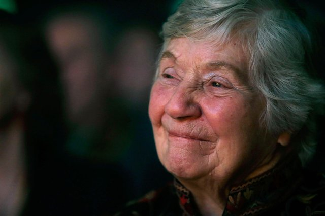 Dame Shirley Williams at the Liberal Democrat spring conference in 2013 (Photo by Matthew Lloyd/Getty Images)