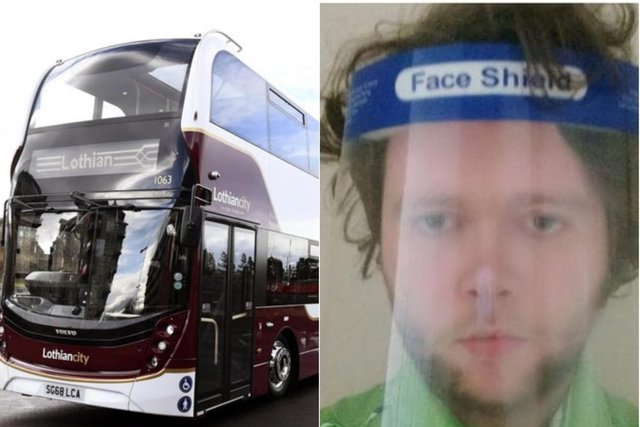 Connor Courtney, from Edinburgh, took a number 34 from the city centre to Riccarton after a long day's work at the Straiton Asda before the incident took place.