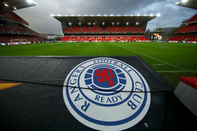 Standard Liege vs Rangers at Stade Maurice Dufrasne. (Photo by Dean Mouhtaropoulos/Getty Images)