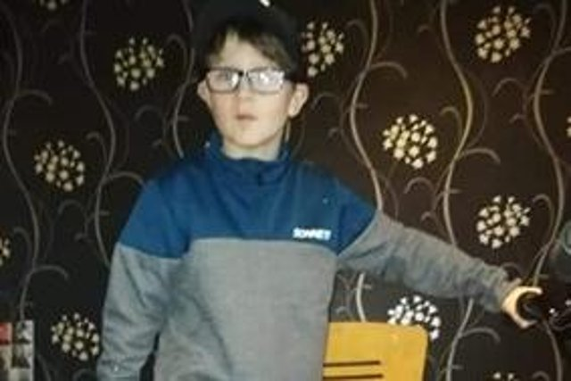 Kaden Laird, aged 12,was last seen at 11pm on Thursday, July 1, in the Cornhill area of Aberdeen City (Photo: Police Scotland).