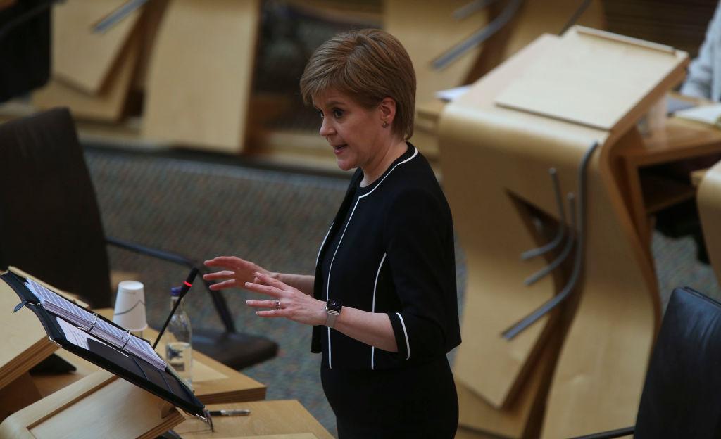 Watch as Janey Godley parodies Nicola Sturgeon's response ...