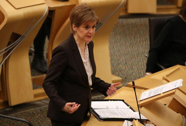 First Minister Nicola Sturgeon announced a second lockdown on January 5 (Getty Images)
