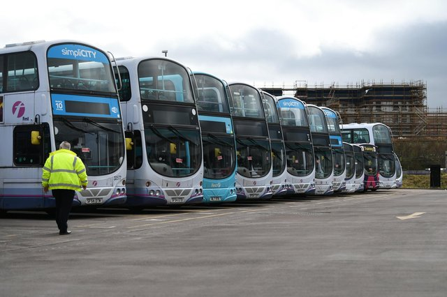 Aberdeen-headquartered FirstGroup is one of the UK's biggest transport operators with its First Bus business. Picture: John Devlin