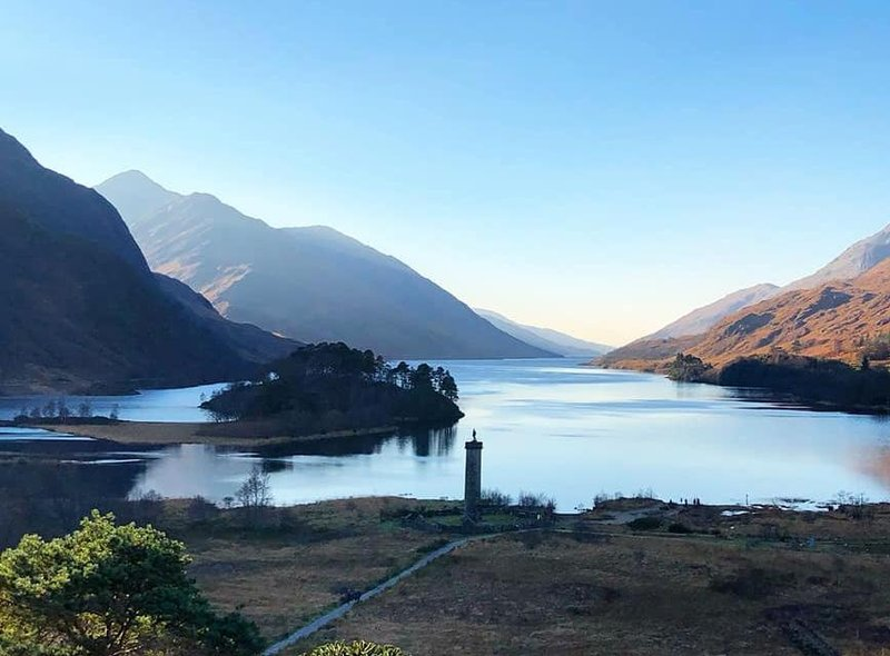 Loch Shiel, in Glenfinnan, is the subject of this picture by Alison Robertson.