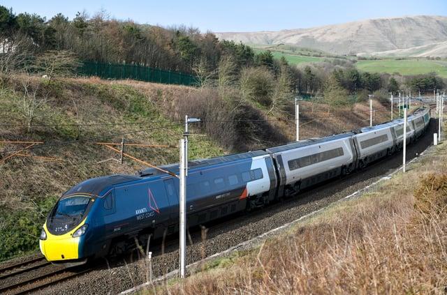 An Avanti West Coast Pendolino train of the type which will attempt to break the record. Picture: Avanti West Coast