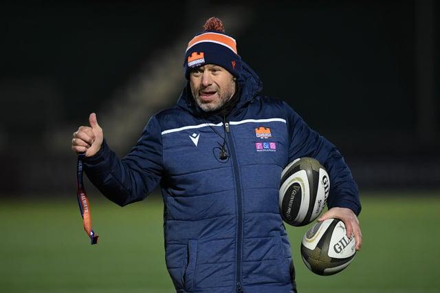 Edinburgh coach Richard Cockerill. Picture: Ross Parker/SNS