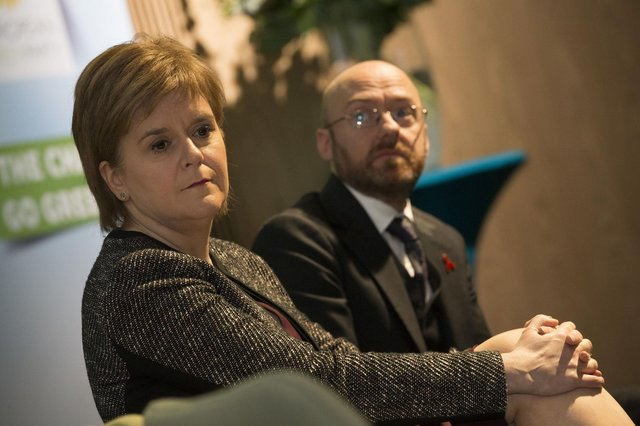 Nicola Sturgeon and Patrick Harvie are considering some kind of formal agreement on co-operation (Picture: Andrew Maccoll/Shutterstock)