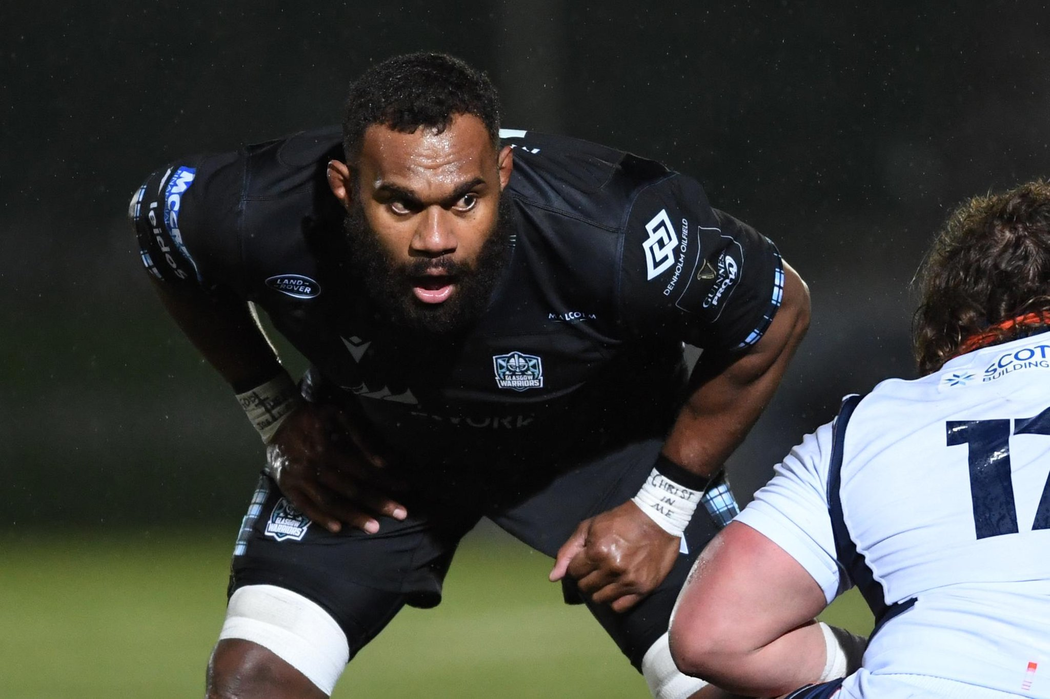 Leone Nakarawa told to get match-fit by Glasgow Warriors coach Danny Wilson