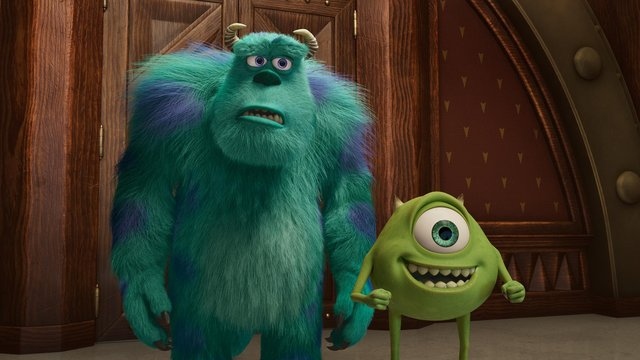 Sully (voiced by John Goodman) and Mike (voiced by Billy Crystal)