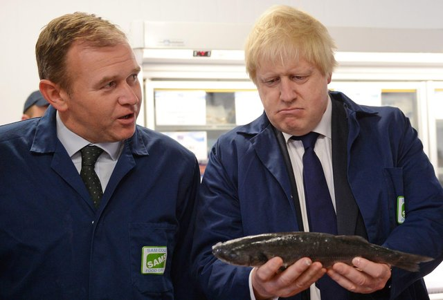 """The UK Government has been accused of forcing fishermen to """"perform the Monty Python fish-slapping dance"""" before helping them."""